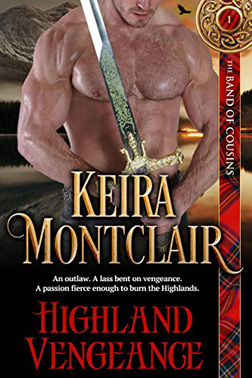 Highland Vengeance by Keira Montclair
